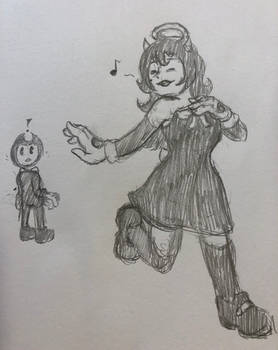 Bendy and Alice: first meeting