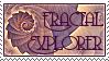 Fractal Explorer Stamp by Roaguewolf
