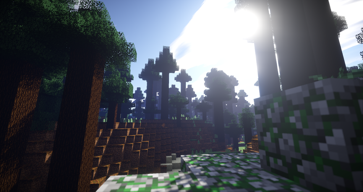 Great Wallpaper Minecraft Forest - minecraft_podzol_forest_hd_by_dream1zz-d8qrvfg  Pictures_74882.png