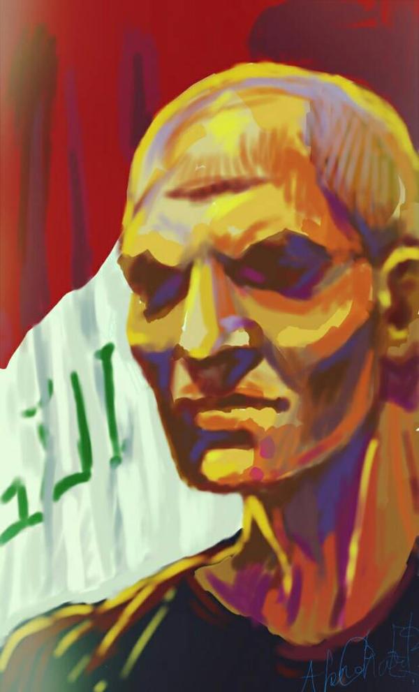 The angry Iraqi  by Akram3Ghareeb