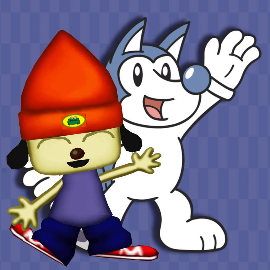 Husky and PaRappa by ChrisWil96
