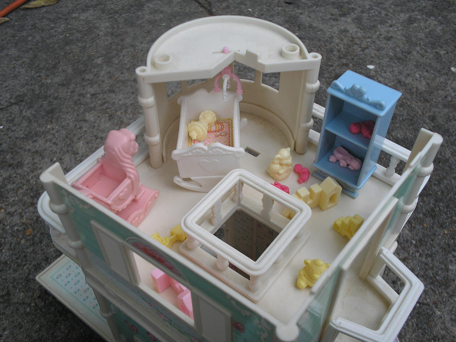 Fisher Price Cottage Toddler Bed
