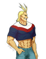 In the summer of '99 (All Might) by Rufakooga