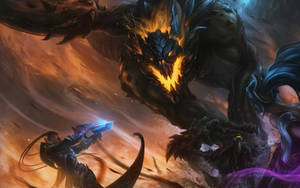 League of Legends-The Dragon Hunt by lovetina0726