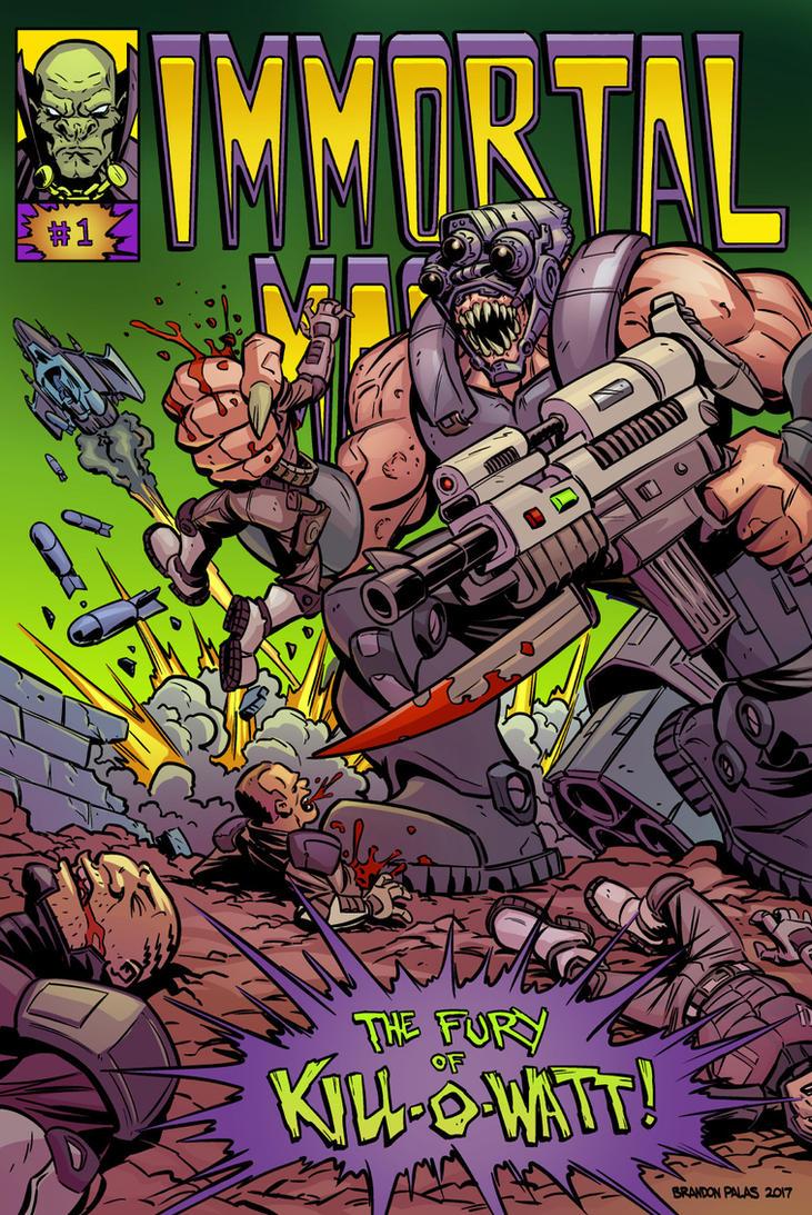 The Fury of Kill-O-Watt! by BrandonPalas
