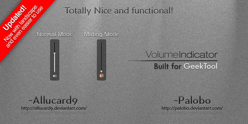 Volumebar Indicator GeekTool by Allucard9