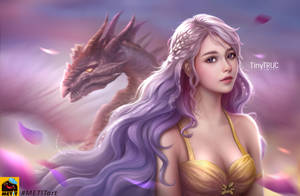 Daenerys Targaryen fan art - Tiny Truc