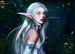 Night Elf Fan Art - Sopina