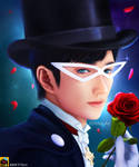 Sailor Moon - Tuxedo Mask Fan Art - Sopina by MetitArt