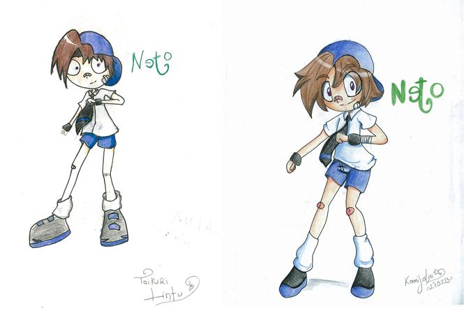 Un antes y un despues radical con Netu by Kamijotai