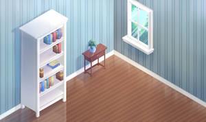 Free Background: Hexels Room