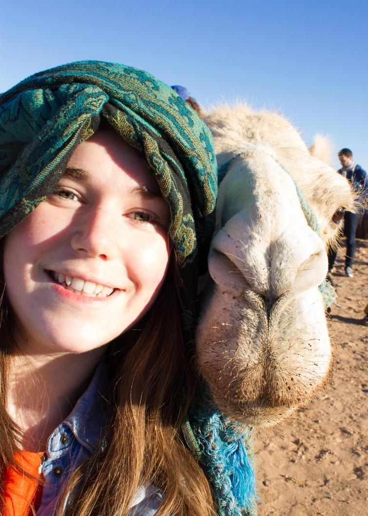 Camel Selfie by FreyaPhotos