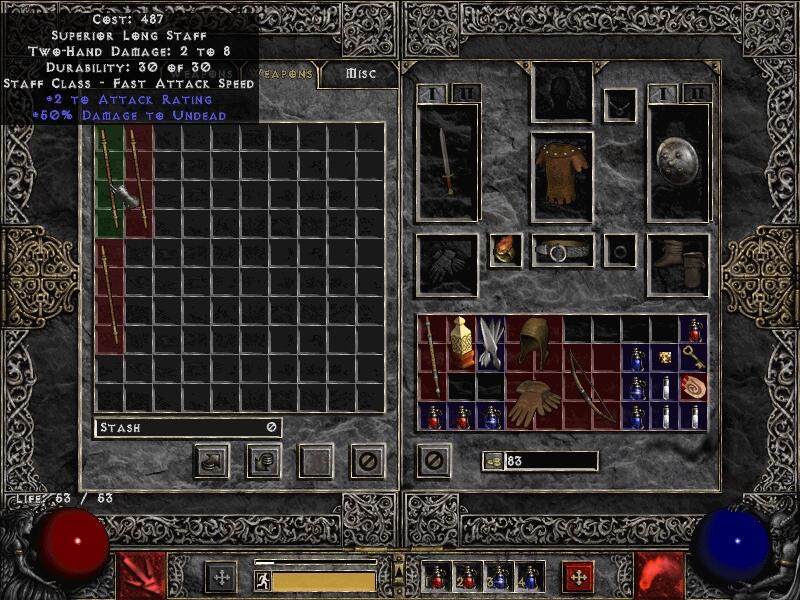 Diablo 2 как сделать гнезда в предмете