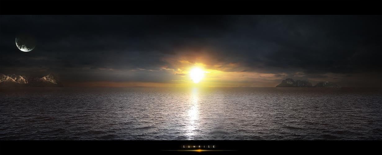 sunrise by castro-gfx