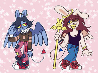 [OPEN] Angel Bunny Adopts