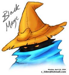 Black Mage by Kagaya
