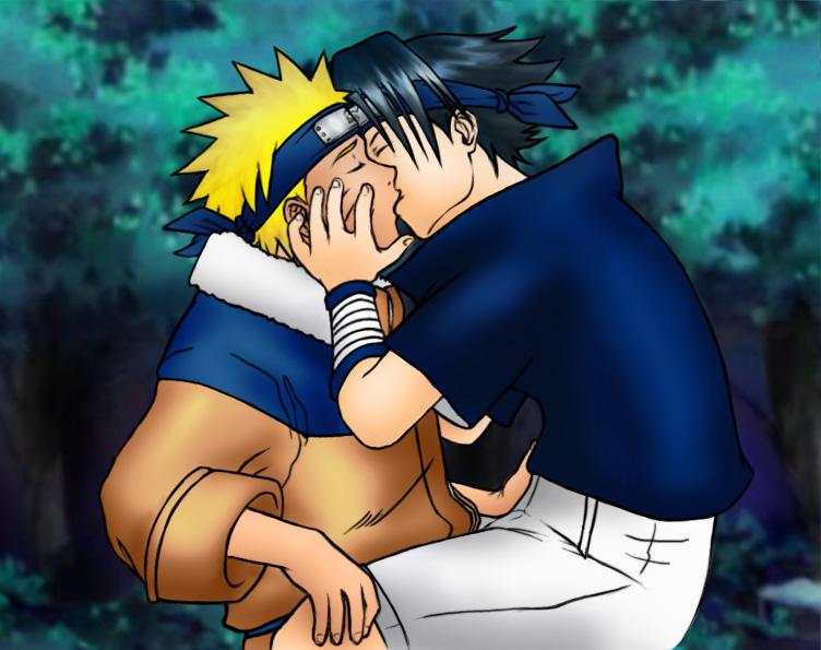 Naruto - Boys, A Kiss Between by ~Kagaya on deviantART