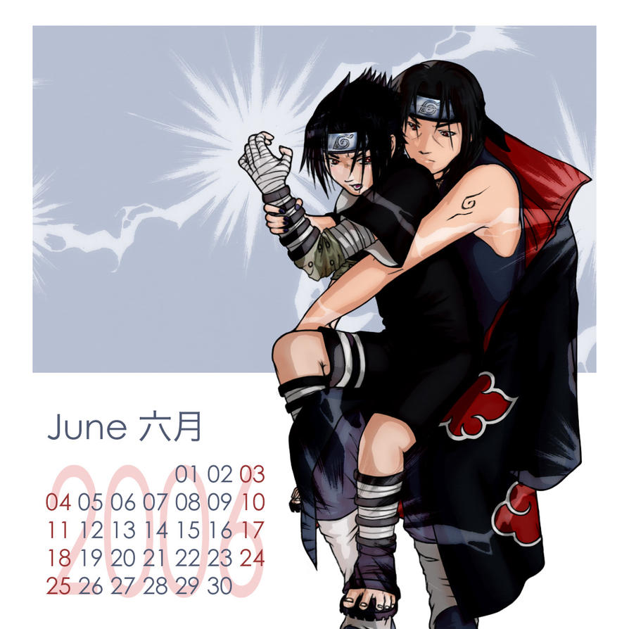 Anime Characters Born In July : Naruto shounen ai cal june by kagaya on deviantart