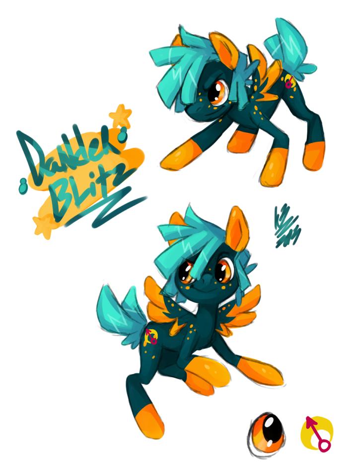 Dander Blitz by KuroBlanc