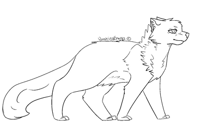 Free lineart / base by WastingEnergy