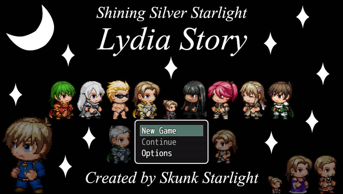 Shining Silver Starlight: Lydia Story by SkunkStarlight