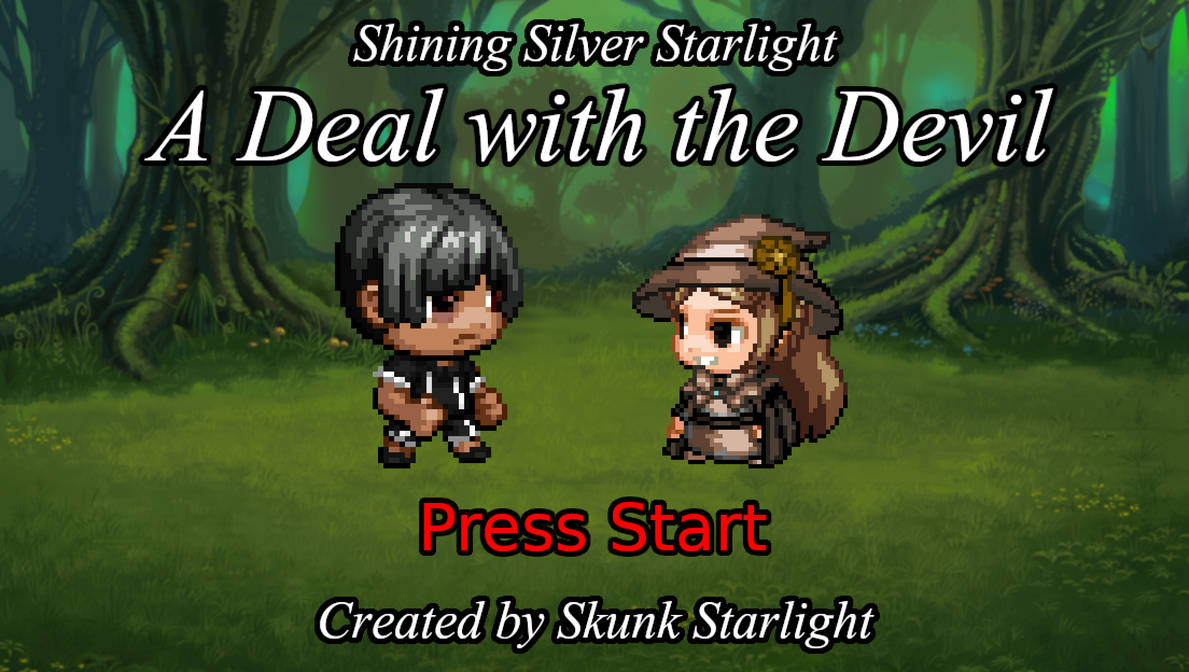 Shining Silver Starlight: A Deal with the Devil