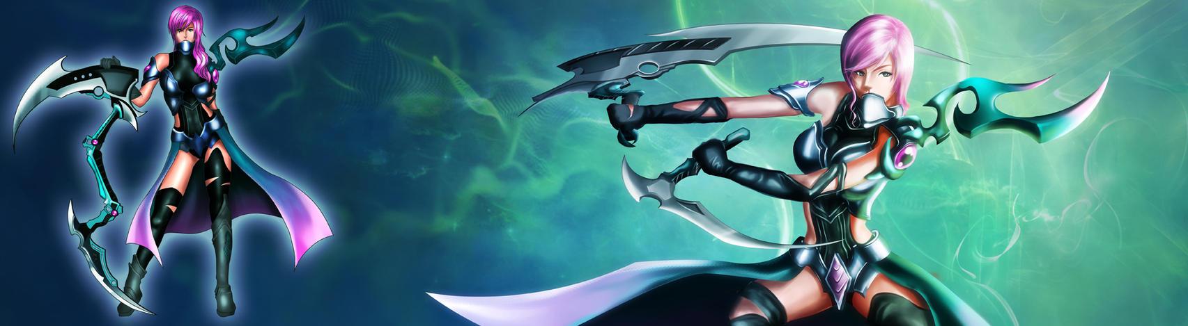 FFXIII - Lightning Returns // Evil Angel by Azaggon
