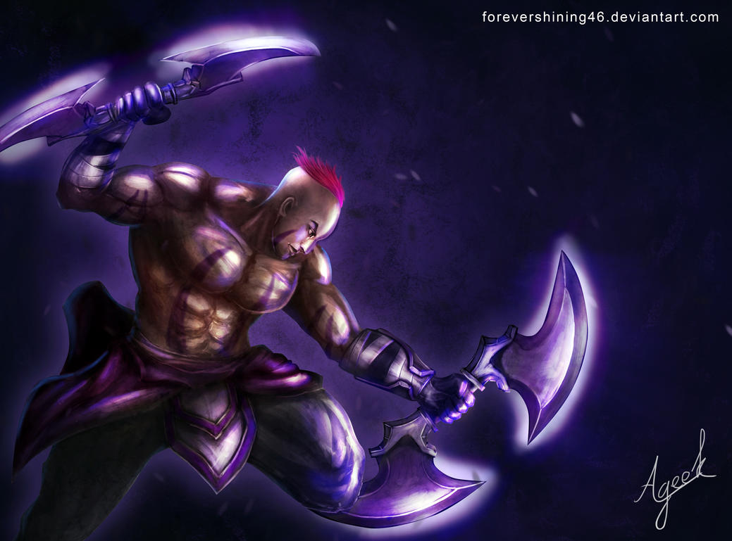 Anti Mage - Dota 2 fanart by Azaggon on DeviantArt