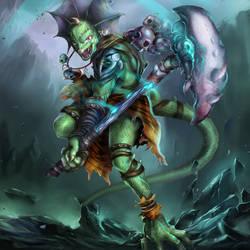 Lizardman by Azaggon