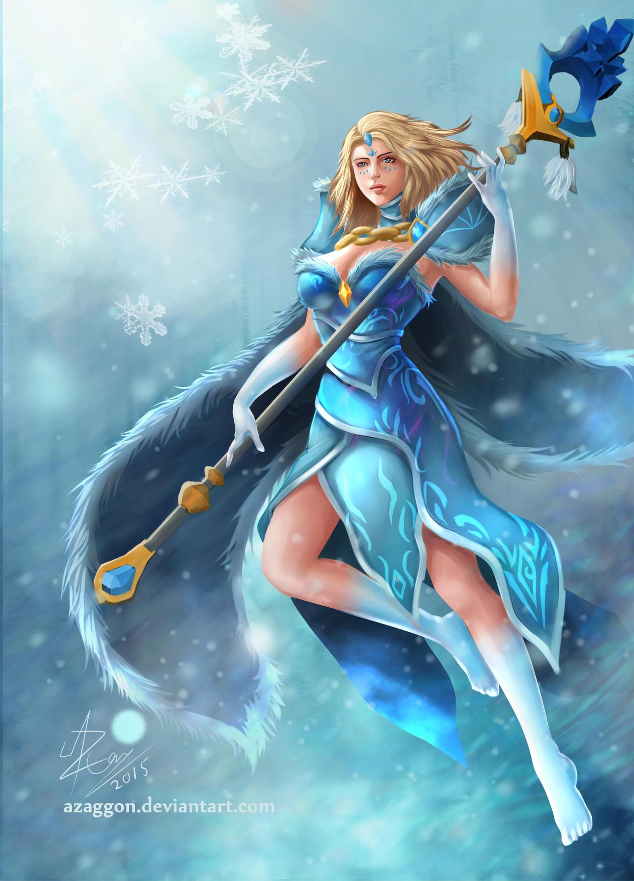 crystal maiden arcana by azaggon on deviantart