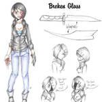 Broken Glass (Creepypasta OC ref. UPDATED)