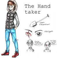 The Hand taker (Creepypasta OC ref.) by MikuParanormal
