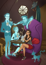 Ghost Tea Party