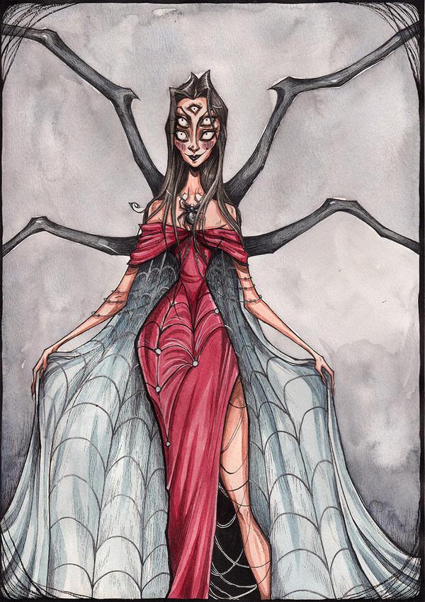 Spider Lady by TallyTodd
