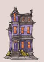 Spooky House by TallyTodd