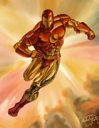 Iron Man (Julie Bell Study)
