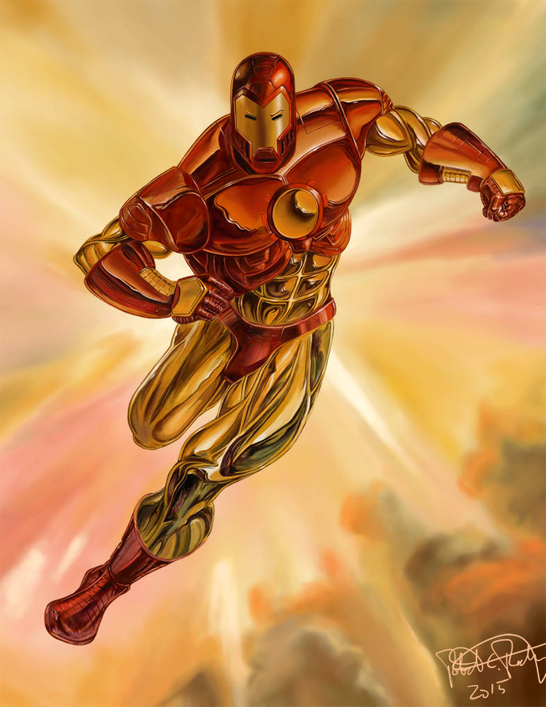 Iron Man (Julie Bell Study)