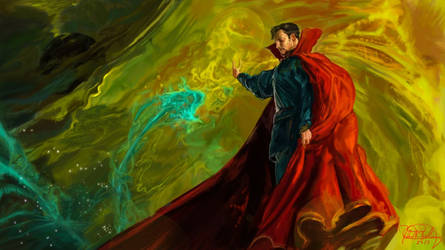 Doctor Strange Concept Art Master Study