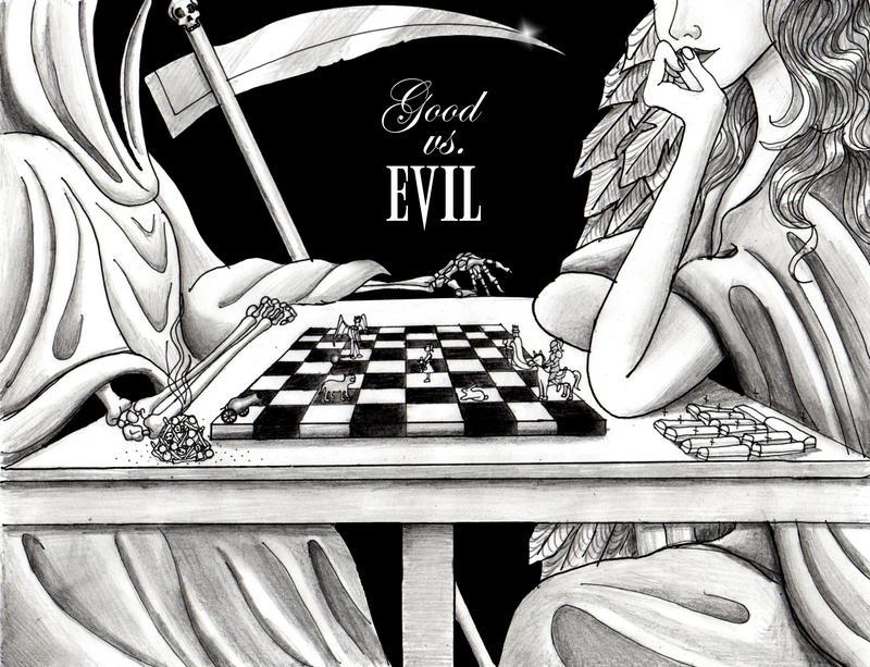 Good vs Evil by foxanazartrox