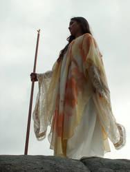 Sky Sorceress 4 by AilinStock