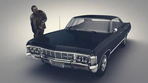 TV show 'Supernatural' 1967 Impala