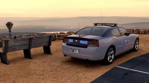 Virginia State Police Car