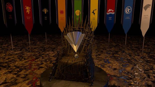 Iron Throne with Logo