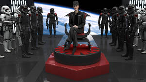 The new First Order General and her Troopers