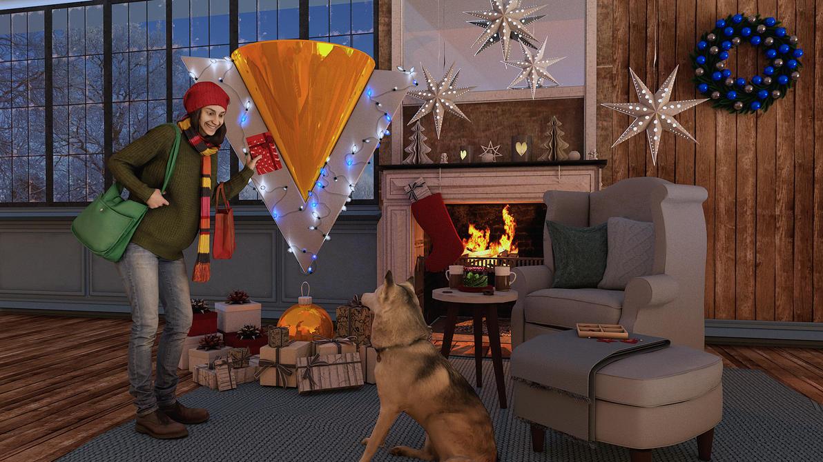 Happy Holidays!!! by 3Danim8or