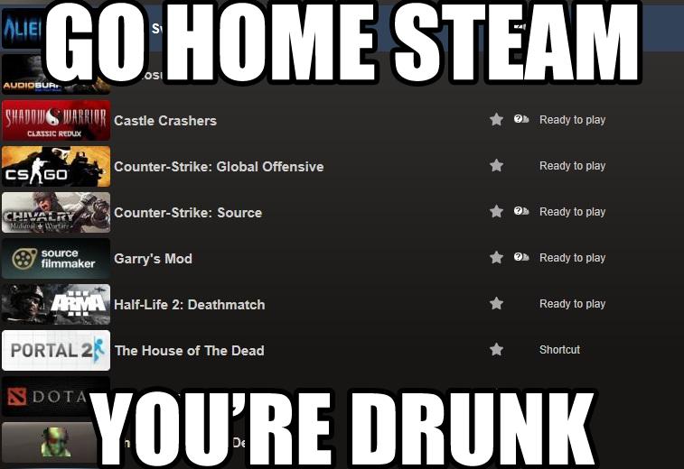 Steam Iz Drunk by AwesomeCasey795