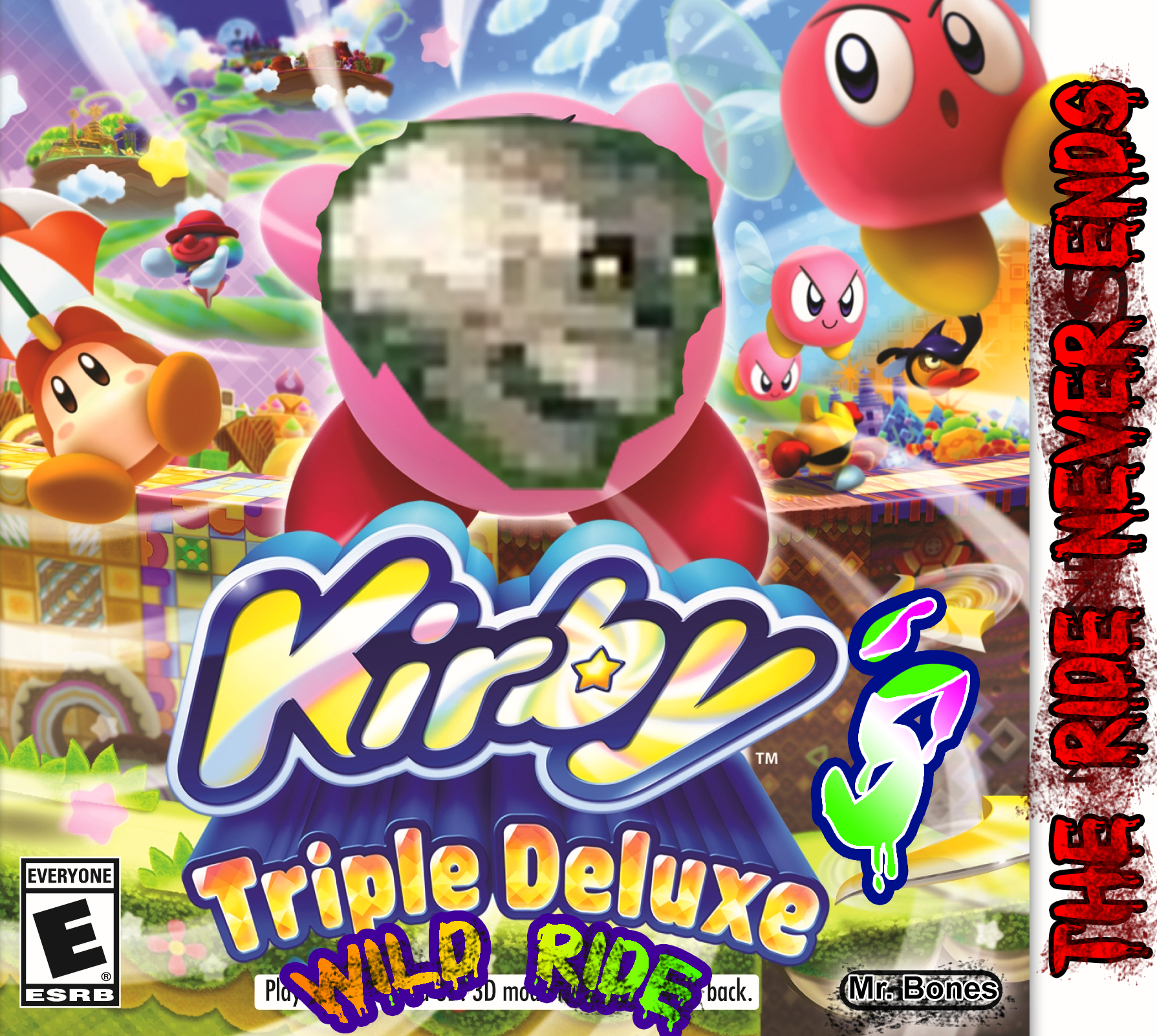 Kirby's Triple Deluxe Wild Ride by AwesomeCasey795