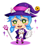 CATchtastrophe! Cat Witch - Kate and Whiskers