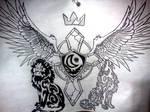 Tattoo Design by olittaD-madA