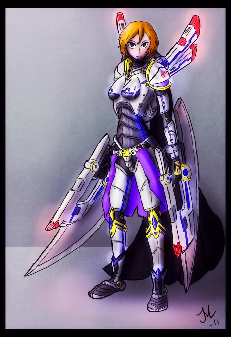 OC Kim Version 2 by Idera13